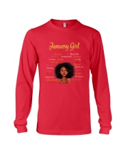JANUARY GIRL Long Sleeve Tee front