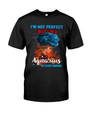 AQUARIUS CLOSE ENOUGH TO PERFECT Premium Fit Mens Tee thumbnail