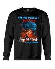 AQUARIUS CLOSE ENOUGH TO PERFECT Crewneck Sweatshirt thumbnail