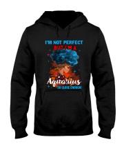 AQUARIUS CLOSE ENOUGH TO PERFECT Hooded Sweatshirt thumbnail