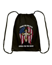 STAND FOR THE FLAG Drawstring Bag thumbnail