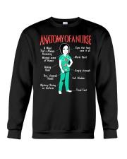 ANATOMY OF A NURSE Crewneck Sweatshirt thumbnail