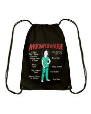 ANATOMY OF A NURSE Drawstring Bag thumbnail