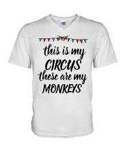 MY CIRCUS V-Neck T-Shirt thumbnail