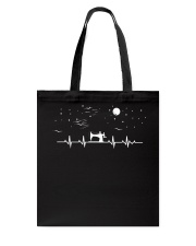 SEWING HEARTBEAT Tote Bag thumbnail