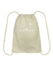 SEWING HEARTBEAT Drawstring Bag thumbnail