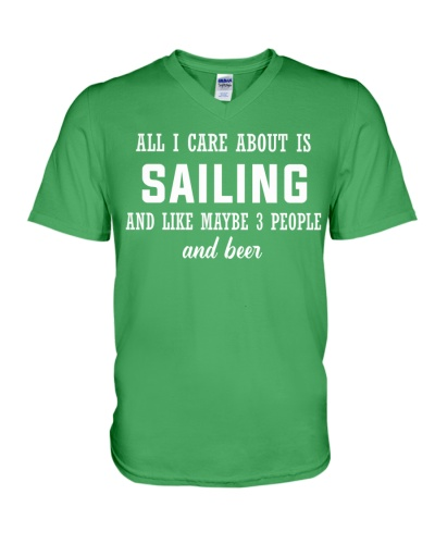 ALL I CARE ABOUT SAILING AND BEER