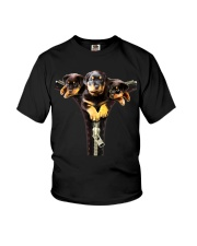 ROTTIES ON SHIRT Youth T-Shirt tile