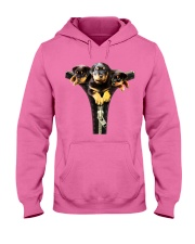 ROTTIES ON SHIRT Hooded Sweatshirt front