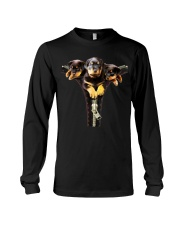 ROTTIES ON SHIRT Long Sleeve Tee tile