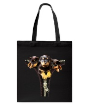 ROTTIES ON SHIRT Tote Bag thumbnail