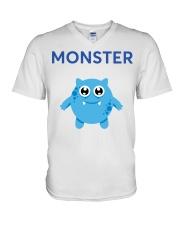 BOY MONSTER V-Neck T-Shirt thumbnail