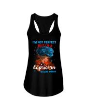 CAPRICORN CLOSE ENOUGH TO PERFECT Ladies Flowy Tank thumbnail