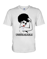 UNBREAKABLE V-Neck T-Shirt thumbnail
