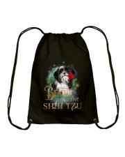 SHIH TZU N BEAUTY Drawstring Bag thumbnail