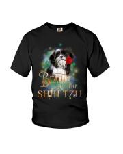 SHIH TZU N BEAUTY Youth T-Shirt thumbnail