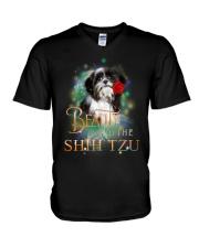 SHIH TZU N BEAUTY V-Neck T-Shirt thumbnail