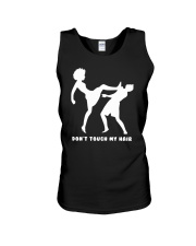 DON'T TOUCH MY HAIR Unisex Tank thumbnail