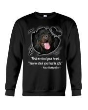 ROTTWEILER TALKING Crewneck Sweatshirt thumbnail