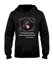 ROTTWEILER TALKING Hooded Sweatshirt thumbnail