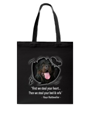 ROTTWEILER TALKING Tote Bag thumbnail