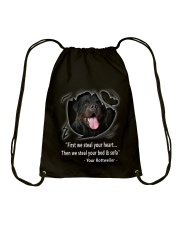 ROTTWEILER TALKING Drawstring Bag thumbnail