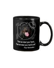 ROTTWEILER TALKING Mug tile