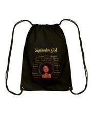 SEPTEMBER GIRL Drawstring Bag thumbnail