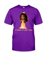 I WOKE UP LIKE THIS Classic T-Shirt thumbnail