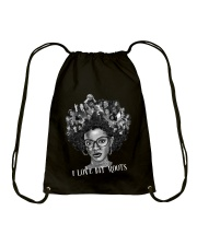 I LOVE MY ROOTS Drawstring Bag thumbnail