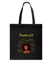 DECEMBER GIRL Tote Bag thumbnail