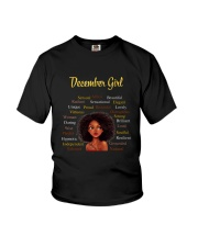 DECEMBER GIRL Youth T-Shirt thumbnail