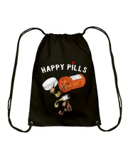 HAPPY PILLS Drawstring Bag tile