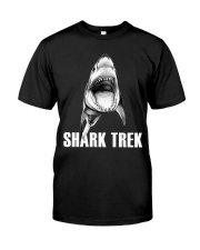 FUNNY SHARK Premium Fit Mens Tee tile