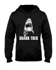 FUNNY SHARK Hooded Sweatshirt thumbnail