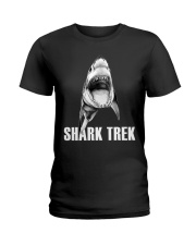 FUNNY SHARK Ladies T-Shirt thumbnail