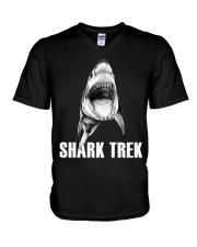 FUNNY SHARK V-Neck T-Shirt thumbnail