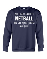 ALL I CARE NETBALL Crewneck Sweatshirt front