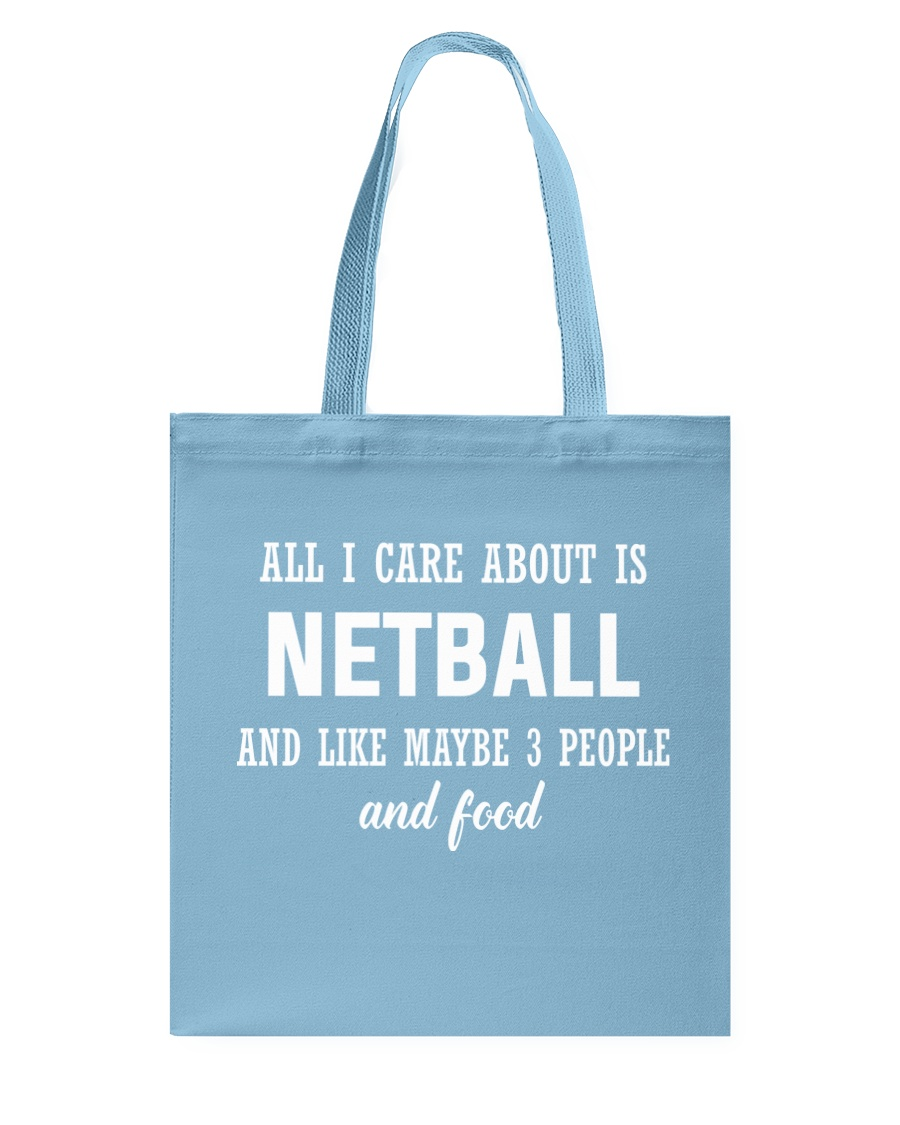 ALL I CARE NETBALL Tote Bag