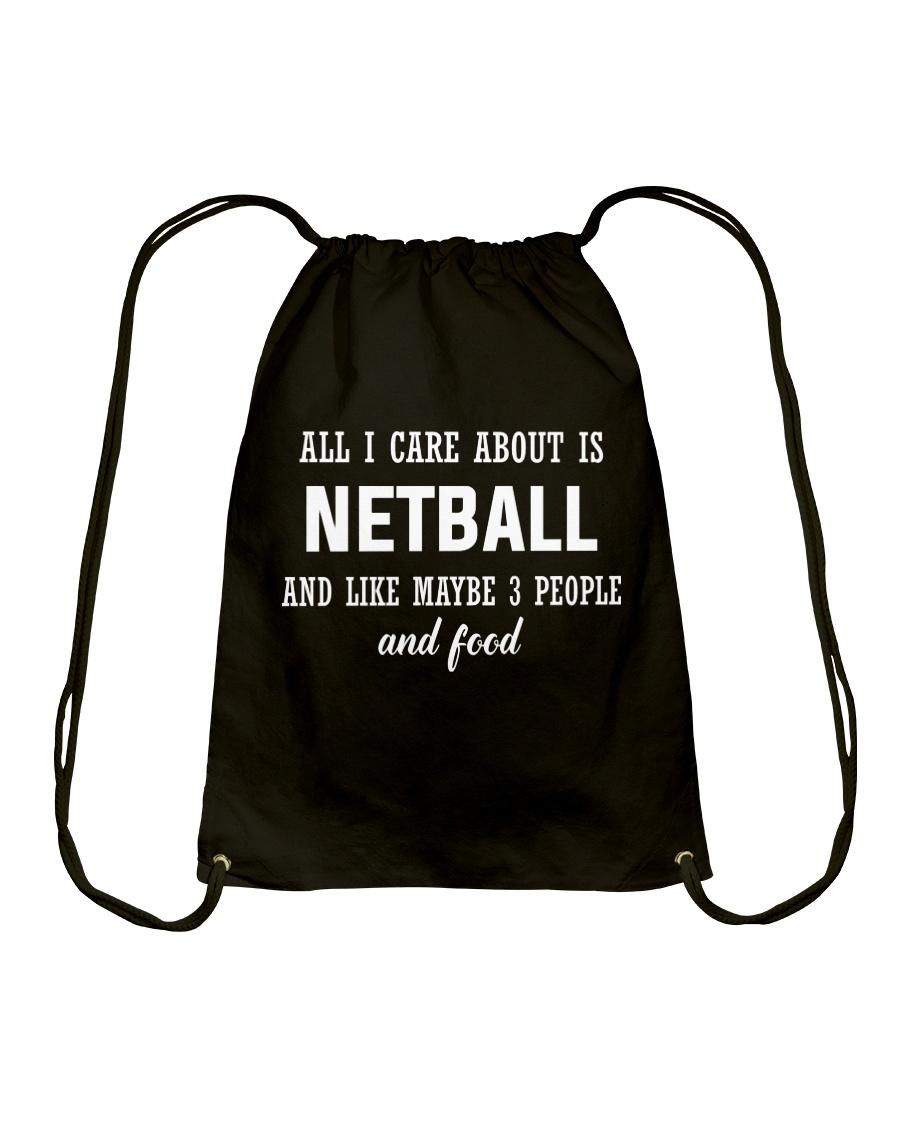 ALL I CARE NETBALL Drawstring Bag