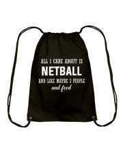 ALL I CARE NETBALL Drawstring Bag thumbnail
