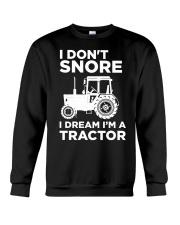 I DREAM I'M A TRACTOR Crewneck Sweatshirt thumbnail