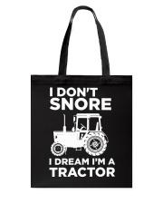 I DREAM I'M A TRACTOR Tote Bag thumbnail