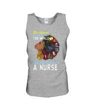 SHE BECAME A NURSE Unisex Tank front