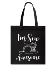 SEW AWESOME Tote Bag thumbnail
