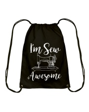 SEW AWESOME Drawstring Bag thumbnail