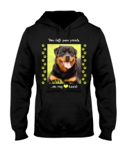 YOU LEFT PAW PRINTS IN MY HEART Hooded Sweatshirt thumbnail