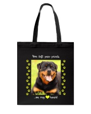 YOU LEFT PAW PRINTS IN MY HEART Tote Bag thumbnail