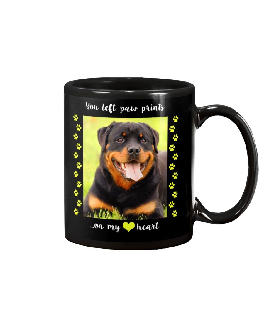 YOU LEFT PAW PRINTS IN MY HEART Mug