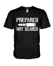 PREPARE NOT SCARED V-Neck T-Shirt thumbnail